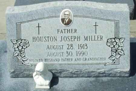 MILLER, HOUSTON JOSEPH - Cameron County, Louisiana   HOUSTON JOSEPH MILLER - Louisiana Gravestone Photos