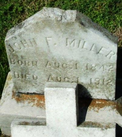 MILLER, JOHN (JEAN) FRANCOIS  (VETERAN CSA) - Cameron County, Louisiana | JOHN (JEAN) FRANCOIS  (VETERAN CSA) MILLER - Louisiana Gravestone Photos