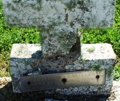 MILLER, JOSEPH RAY - Cameron County, Louisiana | JOSEPH RAY MILLER - Louisiana Gravestone Photos