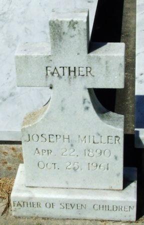 MILLER, JOSEPH - Cameron County, Louisiana | JOSEPH MILLER - Louisiana Gravestone Photos