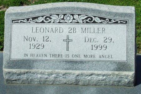 MILLER, LEONARD 2B - Cameron County, Louisiana   LEONARD 2B MILLER - Louisiana Gravestone Photos