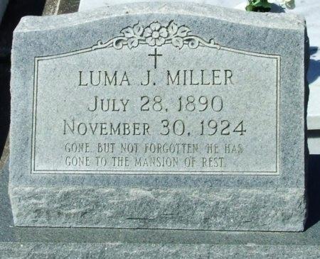 MILLER, LUMA J - Cameron County, Louisiana   LUMA J MILLER - Louisiana Gravestone Photos