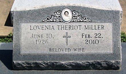MILLER, LOVENIA - Cameron County, Louisiana   LOVENIA MILLER - Louisiana Gravestone Photos