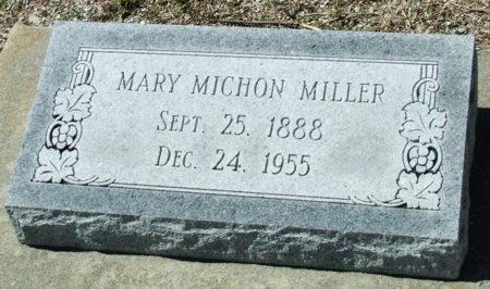 MILLER, MARY - Cameron County, Louisiana | MARY MILLER - Louisiana Gravestone Photos