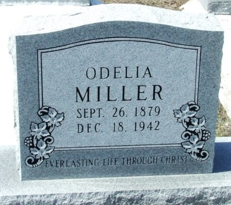 MILLER, ODELIA CLEATILE - Cameron County, Louisiana | ODELIA CLEATILE MILLER - Louisiana Gravestone Photos