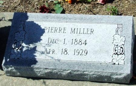 MILLER, PIERRE - Cameron County, Louisiana   PIERRE MILLER - Louisiana Gravestone Photos