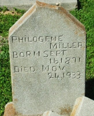MILLER, PHILOGENE - Cameron County, Louisiana | PHILOGENE MILLER - Louisiana Gravestone Photos