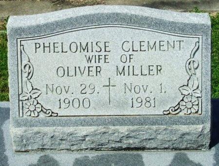 MILLER, PHELOMISE - Cameron County, Louisiana | PHELOMISE MILLER - Louisiana Gravestone Photos