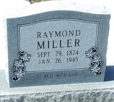 MILLER, RAYMOND - Cameron County, Louisiana | RAYMOND MILLER - Louisiana Gravestone Photos