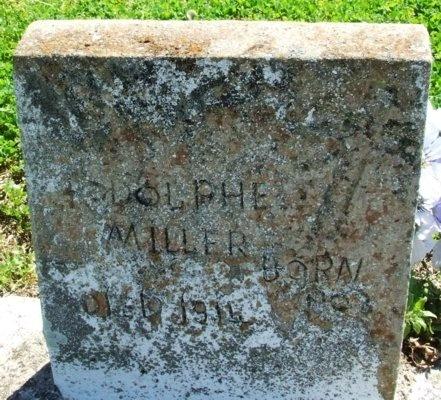 MILLER, RODOLPHE - Cameron County, Louisiana | RODOLPHE MILLER - Louisiana Gravestone Photos