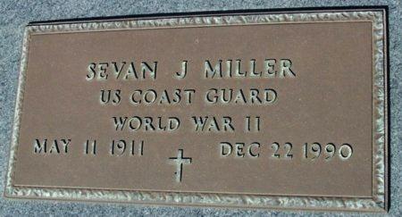 MILLER, SEVAN J  (VETERAN WWII) - Cameron County, Louisiana | SEVAN J  (VETERAN WWII) MILLER - Louisiana Gravestone Photos