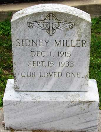 MILLER, SIDNEY - Cameron County, Louisiana | SIDNEY MILLER - Louisiana Gravestone Photos