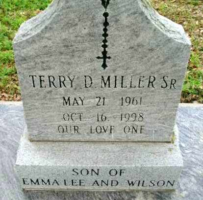 MILLER, TERRY D, SR - Cameron County, Louisiana   TERRY D, SR MILLER - Louisiana Gravestone Photos