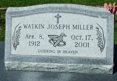 MILLER, WATKIN JOSEPH - Cameron County, Louisiana | WATKIN JOSEPH MILLER - Louisiana Gravestone Photos