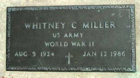 MILLER, WHITNEY C  (VETERAN WWII) - Cameron County, Louisiana | WHITNEY C  (VETERAN WWII) MILLER - Louisiana Gravestone Photos