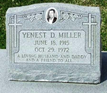 MILLER, YENEST D - Cameron County, Louisiana | YENEST D MILLER - Louisiana Gravestone Photos
