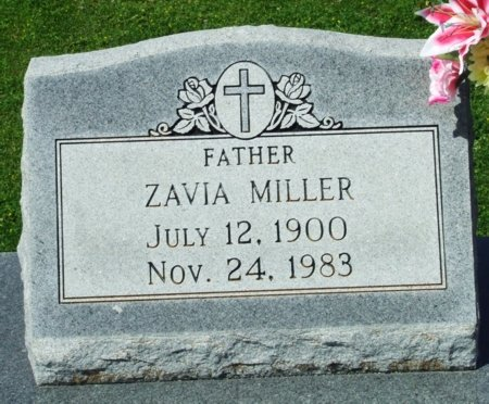 MILLER, ZAVIA (CLOSEUP) - Cameron County, Louisiana | ZAVIA (CLOSEUP) MILLER - Louisiana Gravestone Photos