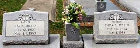 MILLER, ZAVIA - Cameron County, Louisiana   ZAVIA MILLER - Louisiana Gravestone Photos