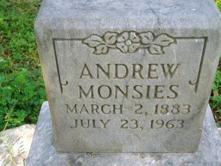 MONSIES, ANDREW - Cameron County, Louisiana   ANDREW MONSIES - Louisiana Gravestone Photos