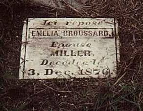MILLER, EMELIA - Cameron County, Louisiana | EMELIA MILLER - Louisiana Gravestone Photos