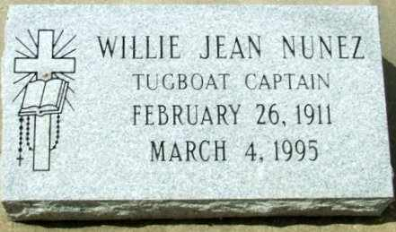 NUNEZ, WILLIE JEAN - Cameron County, Louisiana | WILLIE JEAN NUNEZ - Louisiana Gravestone Photos