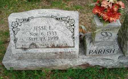 PARISH, JESSE E - Cameron County, Louisiana | JESSE E PARISH - Louisiana Gravestone Photos