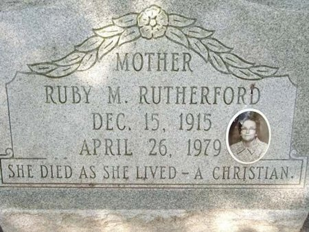 MILLER RUTHERFORD, RUBY - Cameron County, Louisiana | RUBY MILLER RUTHERFORD - Louisiana Gravestone Photos