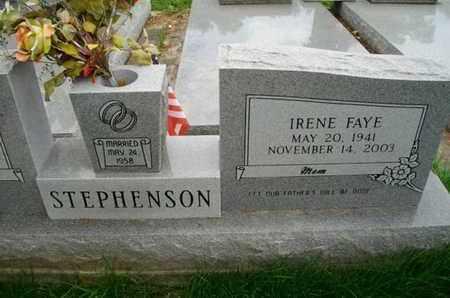 STEPHENSON, IRENE FAYE - Cameron County, Louisiana   IRENE FAYE STEPHENSON - Louisiana Gravestone Photos