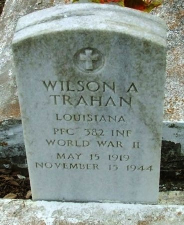 TRAHAN, WILSON A  (VETERAN WWII KIA) - Cameron County, Louisiana | WILSON A  (VETERAN WWII KIA) TRAHAN - Louisiana Gravestone Photos