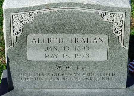 TRAHAN, ALFRED   (VETERAN WWI) - Cameron County, Louisiana | ALFRED   (VETERAN WWI) TRAHAN - Louisiana Gravestone Photos