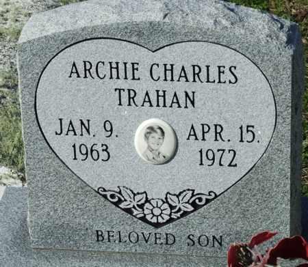 TRAHAN, ARCHIE CHARLES - Cameron County, Louisiana | ARCHIE CHARLES TRAHAN - Louisiana Gravestone Photos