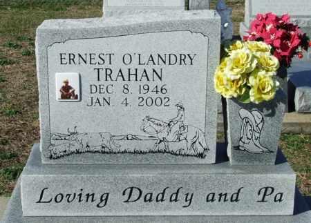 TRAHAN, ERNEST O'LANDRY - Cameron County, Louisiana | ERNEST O'LANDRY TRAHAN - Louisiana Gravestone Photos