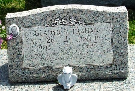 TRAHAN, GLADYS S - Cameron County, Louisiana | GLADYS S TRAHAN - Louisiana Gravestone Photos