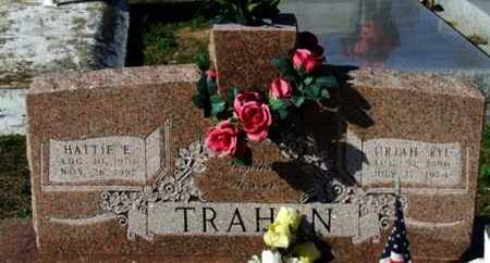 TRAHAN, HATTIE E - Cameron County, Louisiana | HATTIE E TRAHAN - Louisiana Gravestone Photos