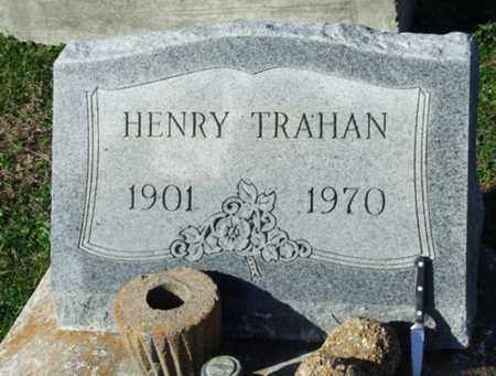 TRAHAN, HENRY - Cameron County, Louisiana | HENRY TRAHAN - Louisiana Gravestone Photos