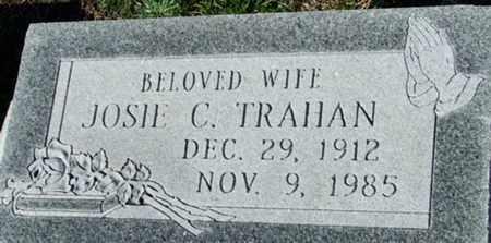 TRAHAN, JOSIE C - Cameron County, Louisiana | JOSIE C TRAHAN - Louisiana Gravestone Photos