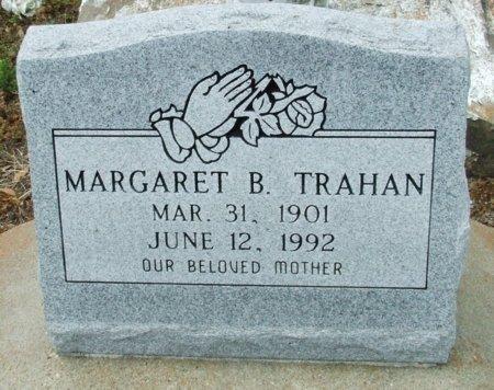 TRAHAN, MARGARET B - Cameron County, Louisiana | MARGARET B TRAHAN - Louisiana Gravestone Photos