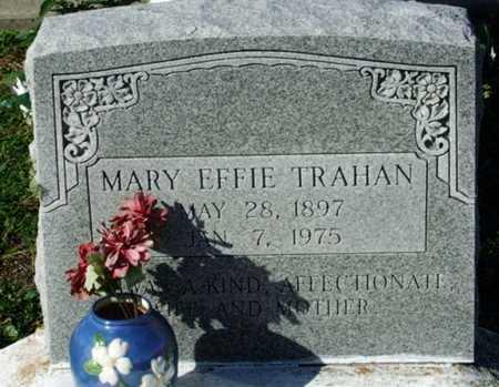 TRAHAN, MARY EFFIE - Cameron County, Louisiana   MARY EFFIE TRAHAN - Louisiana Gravestone Photos