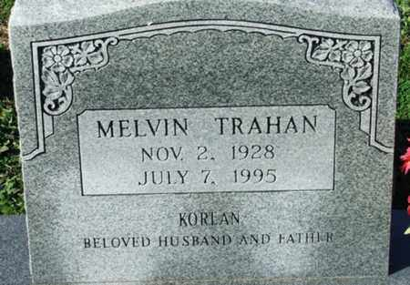 TRAHAN, MELVIN - Cameron County, Louisiana | MELVIN TRAHAN - Louisiana Gravestone Photos