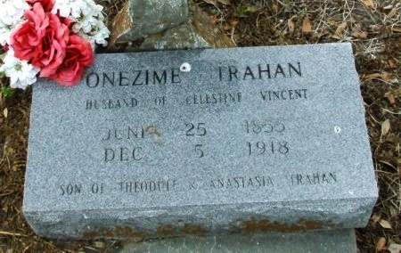 TRAHAN, ONEZIME - Cameron County, Louisiana | ONEZIME TRAHAN - Louisiana Gravestone Photos