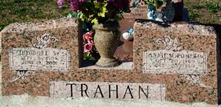 TRAHAN, ANNIE M - Cameron County, Louisiana   ANNIE M TRAHAN - Louisiana Gravestone Photos
