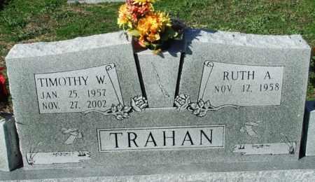 TRAHAN, TIMOTHY W - Cameron County, Louisiana | TIMOTHY W TRAHAN - Louisiana Gravestone Photos