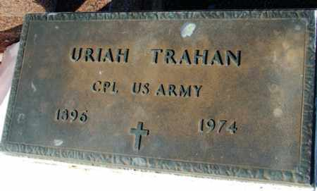TRAHAN, URIAH  (VETERAN) - Cameron County, Louisiana | URIAH  (VETERAN) TRAHAN - Louisiana Gravestone Photos