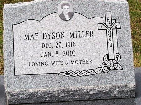 MILLER, MAE AZALENE (CLOSEUP) - Cameron County, Louisiana | MAE AZALENE (CLOSEUP) MILLER - Louisiana Gravestone Photos