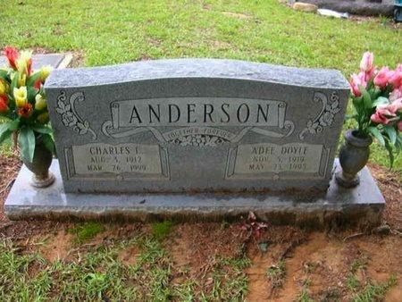ANDERSON, CHARLES E - Catahoula County, Louisiana | CHARLES E ANDERSON - Louisiana Gravestone Photos