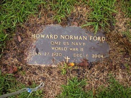 FORD, HOWARD NORMAN (VETERAN WWII) - Catahoula County, Louisiana   HOWARD NORMAN (VETERAN WWII) FORD - Louisiana Gravestone Photos