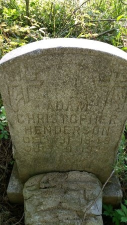 HENDERSON, ADAM CHRISTOPHER - Catahoula County, Louisiana | ADAM CHRISTOPHER HENDERSON - Louisiana Gravestone Photos