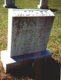 JOHNSON PRICE, MARY MARGARET - Catahoula County, Louisiana | MARY MARGARET JOHNSON PRICE - Louisiana Gravestone Photos