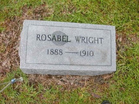 WRIGHT, ROSABEL - Catahoula County, Louisiana | ROSABEL WRIGHT - Louisiana Gravestone Photos