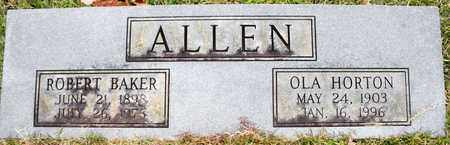 ALLEN, ROBERT BAKER - Claiborne County, Louisiana | ROBERT BAKER ALLEN - Louisiana Gravestone Photos